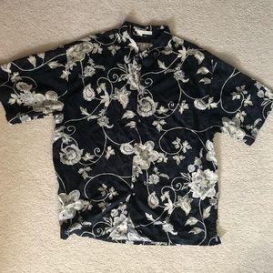 Hibiscus Hawaiian Shirt Sz xl